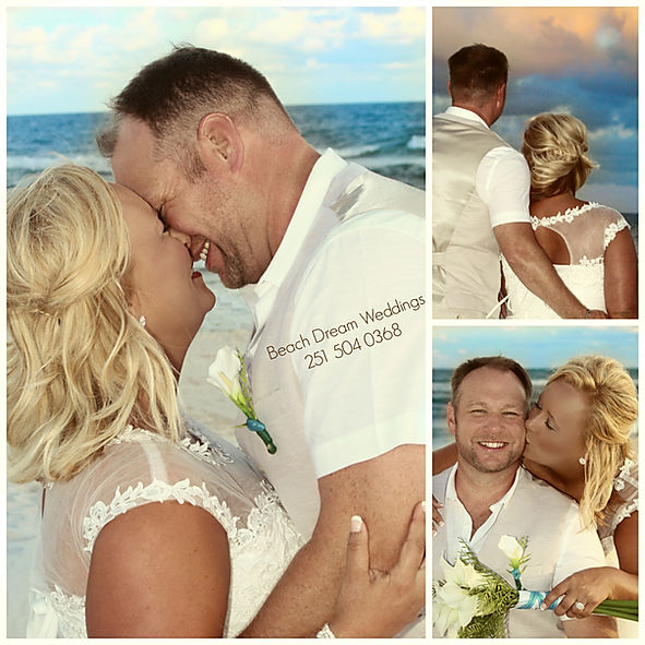 Amazing beach deam weddings on the sand