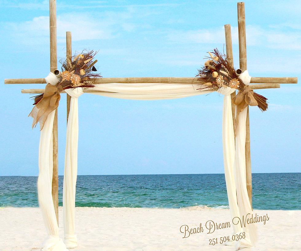 One I Love Beach Wedding