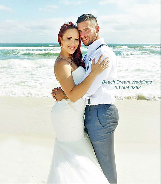 Unforgettable Beach Wedding Day
