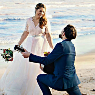 BEACH WEDDING PROPOSAL