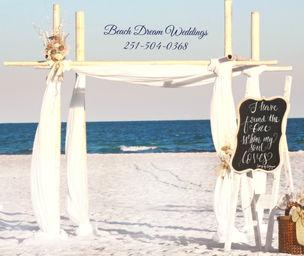 The One I Love Beach Dream Wedding Alabama Weddings