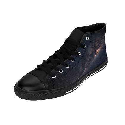 Space Walkers II - High-top Sneakers (OpenEyes)