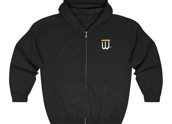 Willo Unisex Zip Up Hoodie