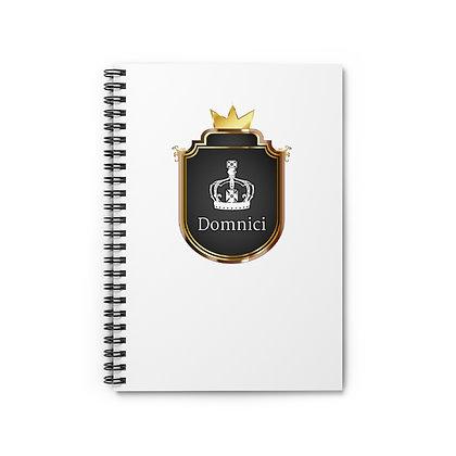 Domnici Spiral Notebook - Ruled Line