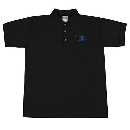 #oGcj - Embroidered Polo Shirt (OpenEyes)