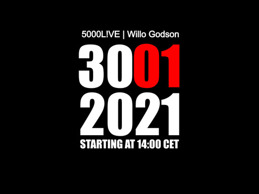 3 Days until 5000L!VE with Willo Godson!