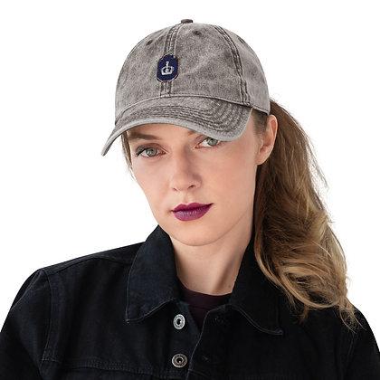 Domnici Vintage Cotton Twill Cap