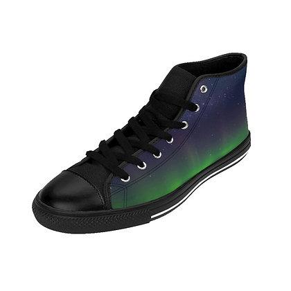 Space Walkers III - High-top Sneakers (OpenEyes)
