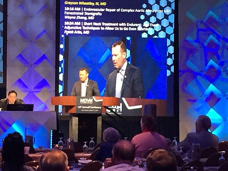 Dr. Grayson Wheatley Research Presentation at NCVH 2015