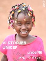 SCANEX stödjer UNICEF