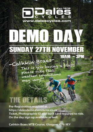 Dales Cycles Demo Day