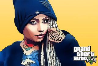 Рисование портретов в GTA