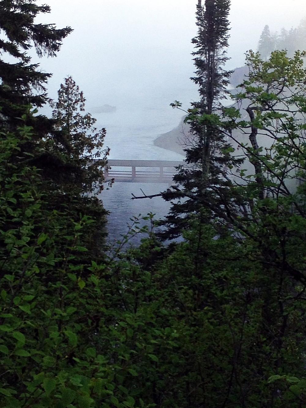 coast of lake superior in Minnesota 2015
