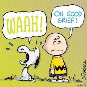Good grief, Charlie Brown