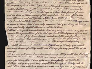 Jane Austen Writes To a Love Rival