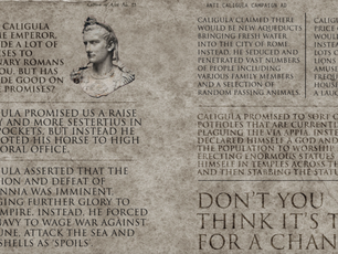 An Anti-Caligula Attack Ad
