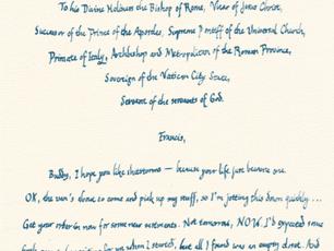 Pope Benedict XVI's Handover Notes