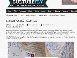 Letters of Not Love on CultureFly