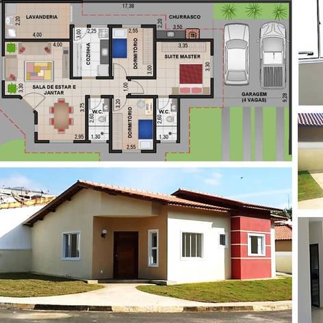 Construção Residencial - 96m²