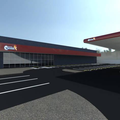 Supermecado Correia - 2,2mil m²
