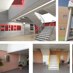 Restauração de Salâo de entrada - 164m²