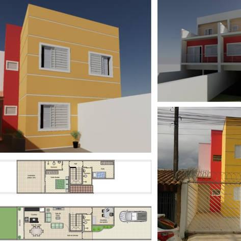 Projeto Residencial - 2x98m²