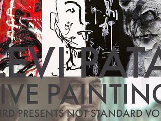 Levi Pata Wall Painting Live T h i r d presents Not Standard vol.2