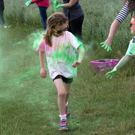 Colour Run Registration is NOW OPEN!