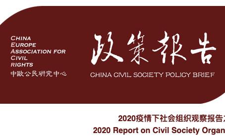 2020社会组织第一季度观察报告