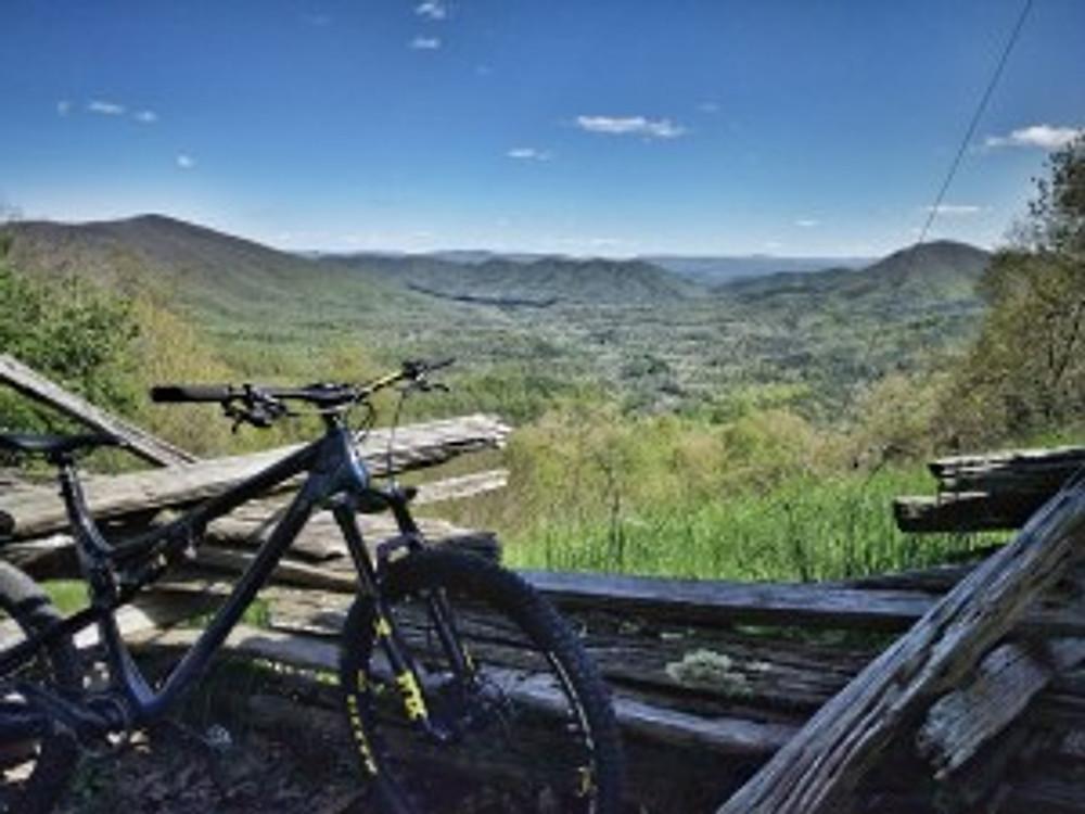 Big Walker Lookout Virginia Mountain Biking