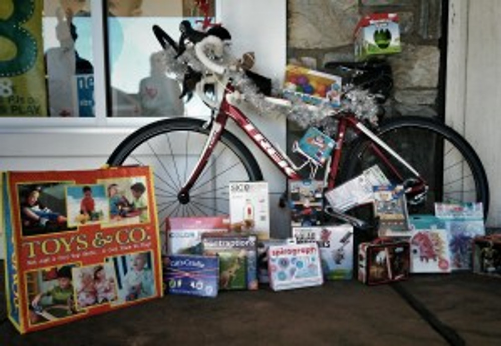 toys for tots - toy drive and ride