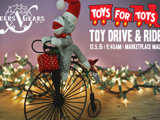 Toys for Tots Toy Drive and Ride