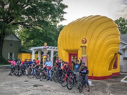 winston salem group bicycle ride