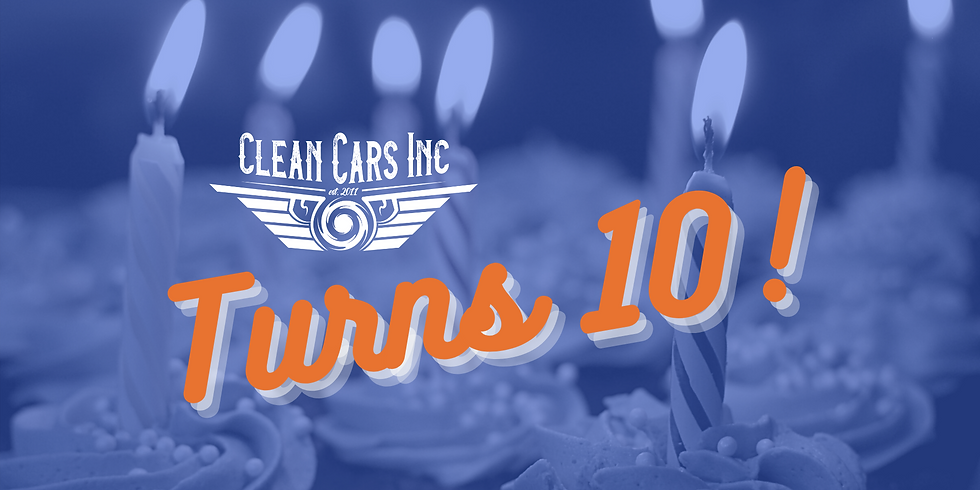 Clean Cars Inc Birthday Party!