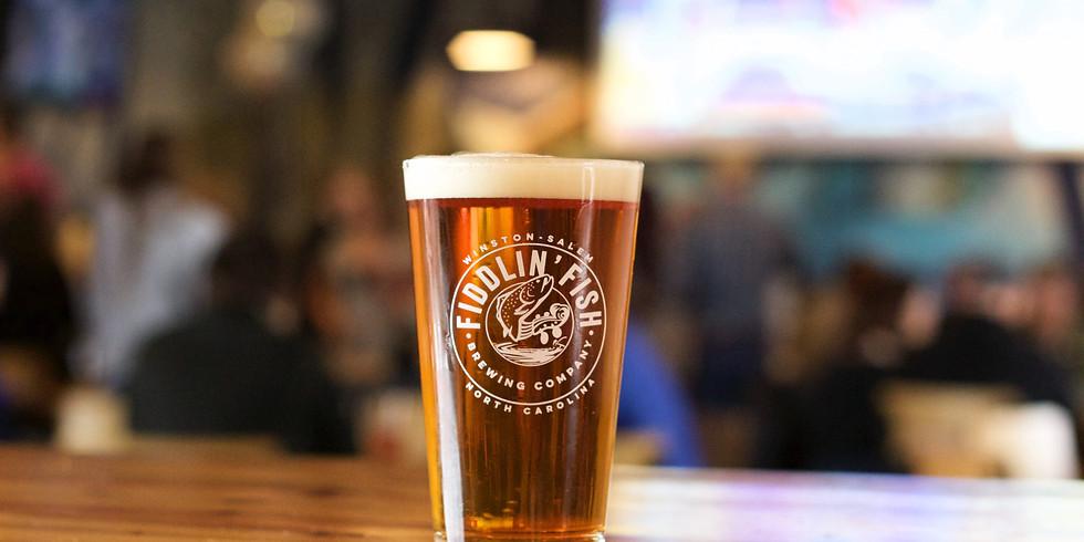 Fundraiser at Fiddlin' Fish Brewery