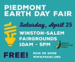 Our Top 6 Reasons For Going to the 2015 Piedmont Earth Day Fair