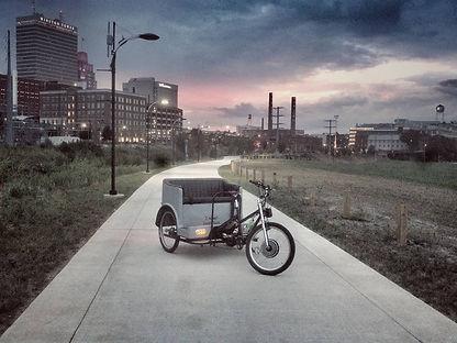 Hail a Rickshaw. 336-701-3282 #dtws #wsn