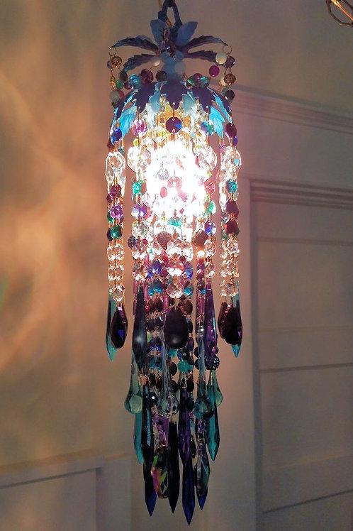Bohemian Petite Pendant Crystal Chandelier