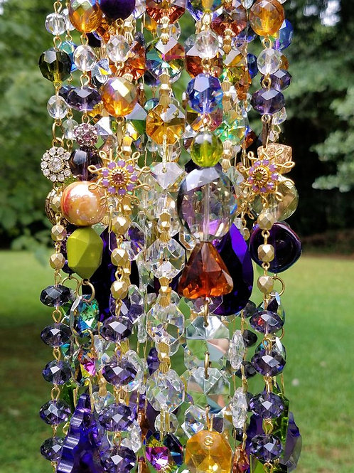 Gypsy Summer Antique Crystal Wind Chime