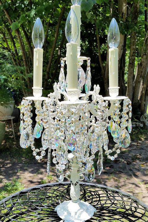 Antique Table Chandelier ~ Candelabra