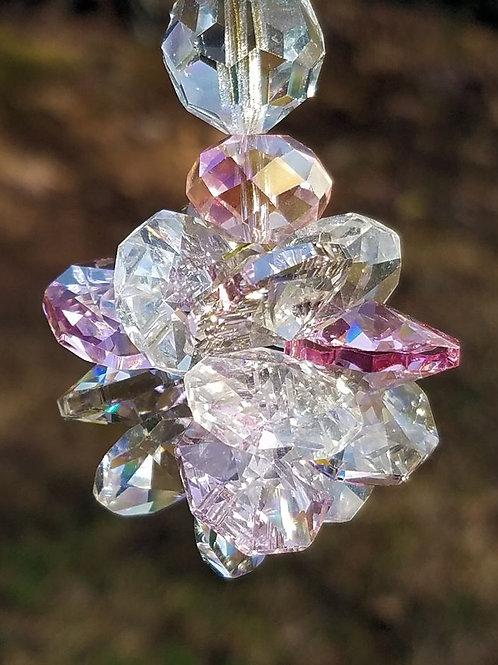 Austrian Crystal Cluster Sun Catcher
