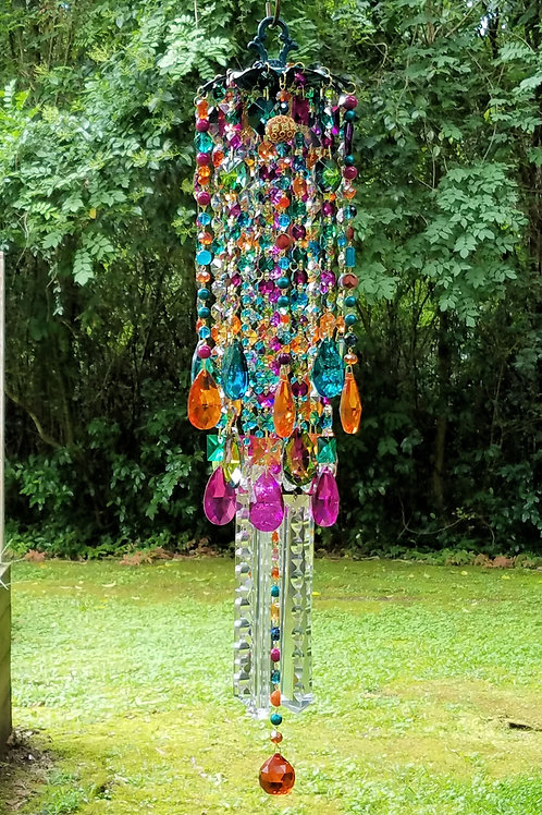 Bohemian Crystal Wind Chime