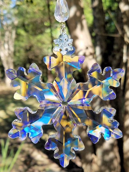 Crystal Snowflake Sun Catchers for Nancy