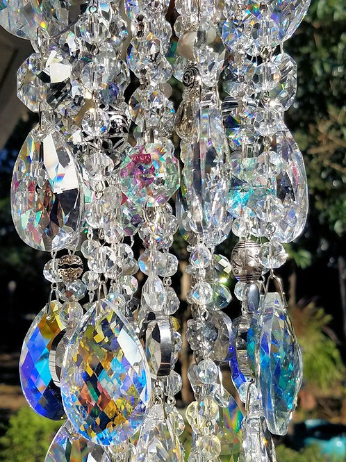 Crystal Waterfall Wind Chime