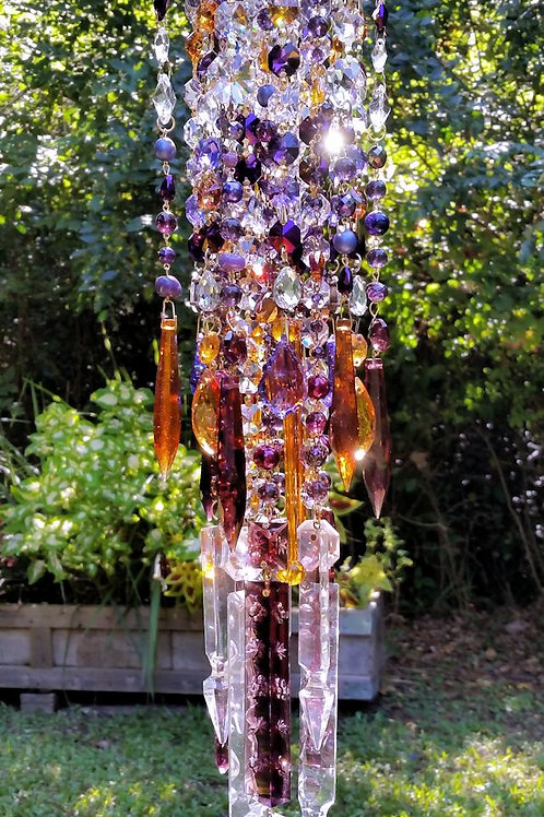 Autumn Gypsy Antique Crystal Wind Chime