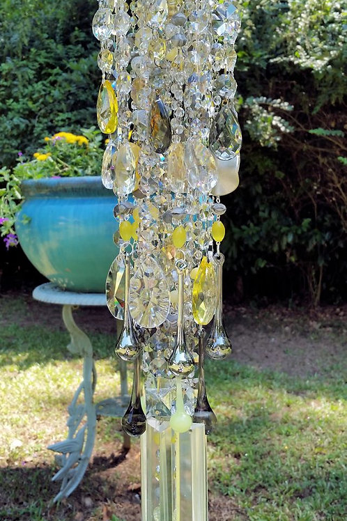 Moon Dust Antique Crystal Wind Chime
