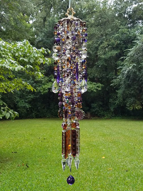Autumn Bliss Crystal Wind Chime