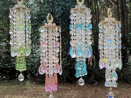 Crystal Wind Chime Sun Catcher