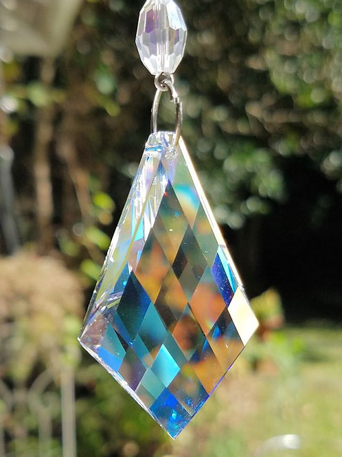 Faceted Crystal Kite Sun Catcher