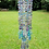 Thumbnail: Custom Order ~ Water Colors Antique Crystal Wind Chime